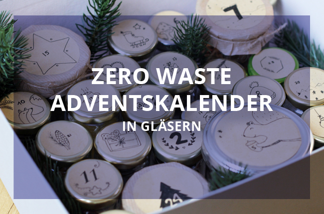 Zero waste Adventskalender